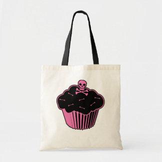 Pink Poison Cupcake Tote Bag