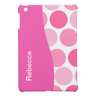 Pink Polka Dot iPad Mini Case