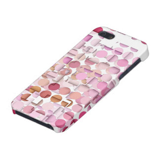 Pink Polka Dot Layered iPhone 5 Case