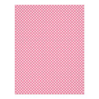 Pink Polka Dot Scrapbook Paper