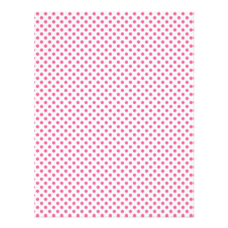 Pink polka dot scrapbook paper design