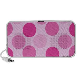 Pink Polka Dot Speaker Doodle