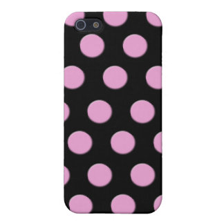 Pink Polka Dots iPhone 5 Case