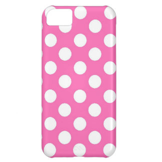 Pink Polka Dots iPhone Case iPhone 5C Cases