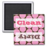 Pink Polka Dots Kitchen Decor Accessories Fridge Magnet