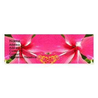 Pink Pollen Kiss Business Card Template
