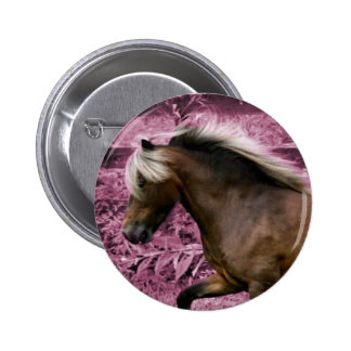 Pink Pony Button