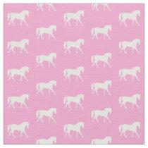 Pink Pony Fabric, Pretty Horse Fabric