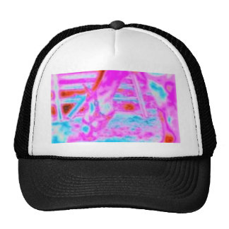 Pink Pony retro colors Trucker Hat
