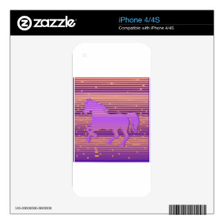 Pink Pony Skins For iPhone 4S