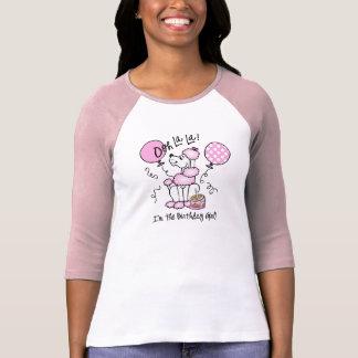 Pink Poodle Birthday Tee Shirt