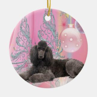 Pink Poodle Ornaments & Keepsake Ornaments | Zazzle