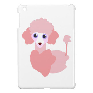 Pink Poodle Cover For The iPad Mini