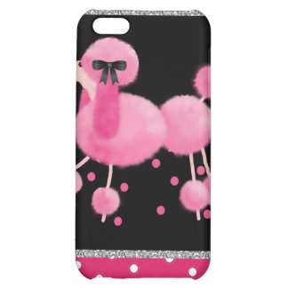 Pink Poodle iPhone 5C Cases