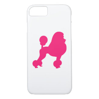 Pink Poodle iPhone 7 Case