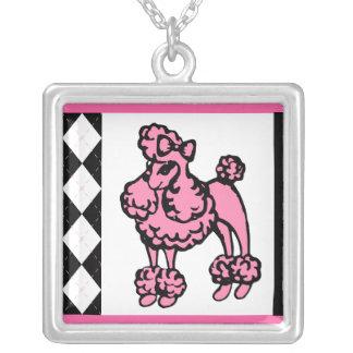 Pink Poodle Necklace