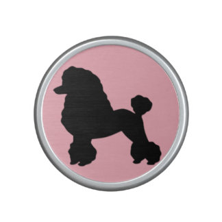 Pink Poodle Skirt Inspired Bumpster Speaker
