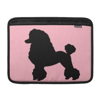 Pink Poodle Skirt MacBook Air Sleeve