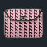 "Pink Poodle Skirt MacBook Pro Sleeve<br><div class=""desc"">Break out your bobby socks and saddle shoes and start dancing! This Pink Poodle Skirt Inspired MacBook Pro Sleeve looks like a classic 1950s poodle skirt. The design features the repeating image of a black silhouette of a poodle on a pink background. It&#39;s beginning to look a lot like the...</div>"