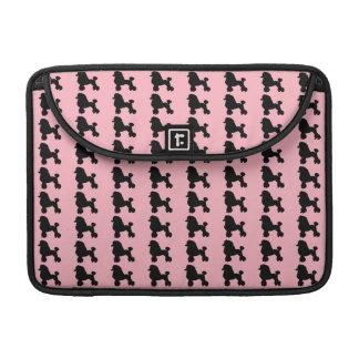 Pink Poodle Skirt MacBook Pro Sleeve