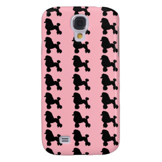Pink Poodle Skirt Samsung Galaxy S4 Case