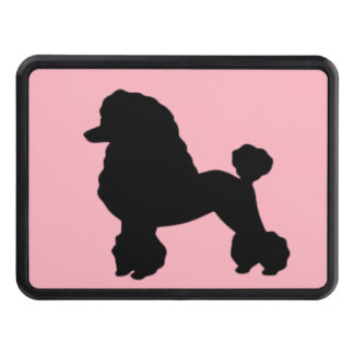 Pink Poodle Skirt Trailer Hitch Cover