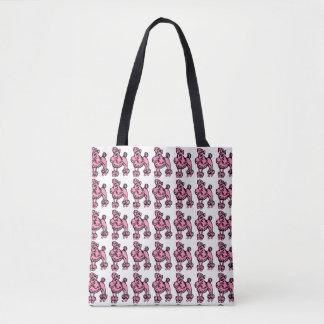 Pink Poodle Tote Tote Bag