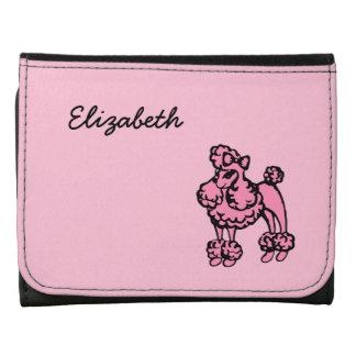 Pink Poodle Wallet
