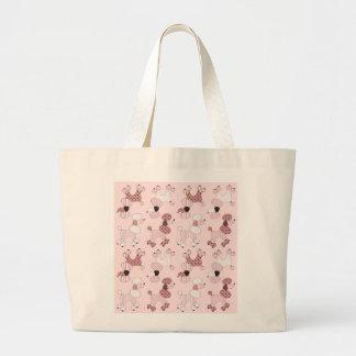 Pink Poodles On Parade Bag