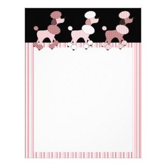 Pink Poodles On Parade Letterhead