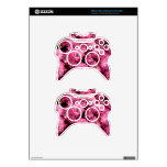 Pink Poofs Xbox 360 Controller Skins