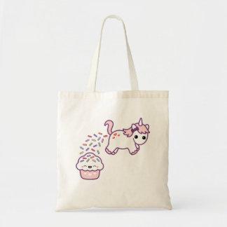 Pink Pooping Unicorn Tote Bag
