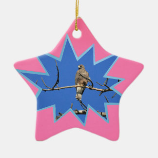 Pink Pop Out Photo Frame Ceramic Ornament