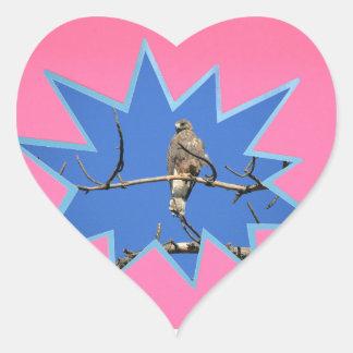 Pink Pop Out Photo Frame Heart Sticker