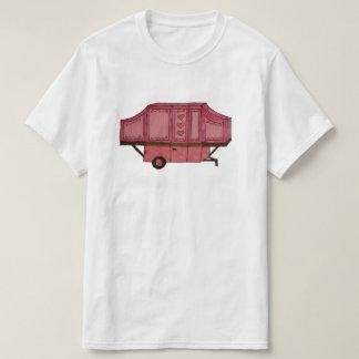 pink pop up camper design T-Shirt