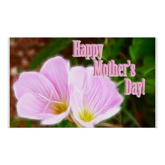 Pink Poppies for Mother's Day Poster