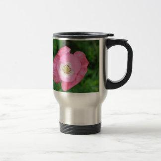 Pink Poppy 15 Oz Stainless Steel Travel Mug