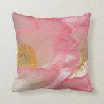Pink Poppy American MoJo Pillow