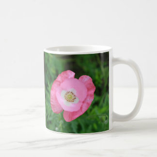 Pink Poppy Classic White Coffee Mug
