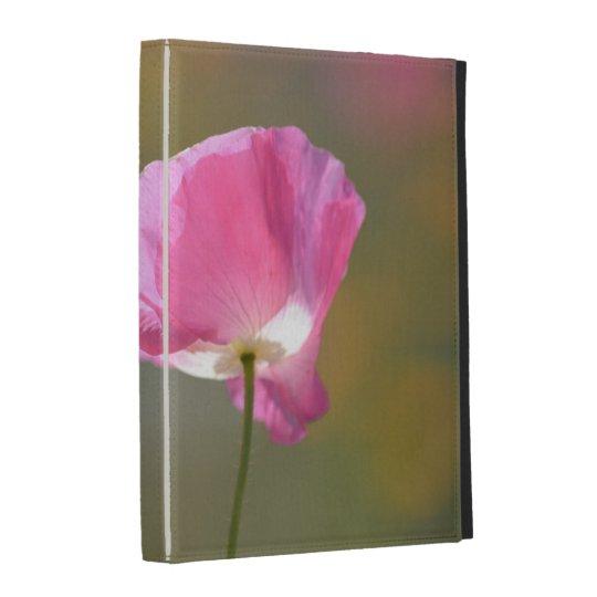 Pink Poppy Flower iPad Cases