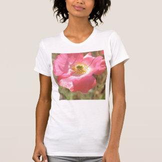 Pink Poppy Flower Shirt