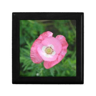 Pink Poppy Keepsake Box