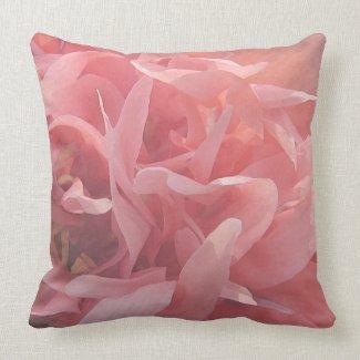 Pink Poppy Petals mojo_throwpillow