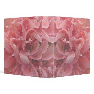 Pink Poppy Petals binder