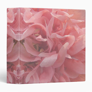 Pink Poppy Petals 3 Ring Binders