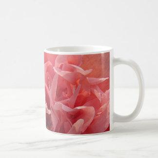 Pink Poppy Petals Coffee Mug