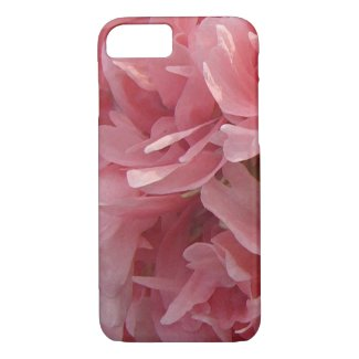 Pink Poppy Petals iPhone 7 Case