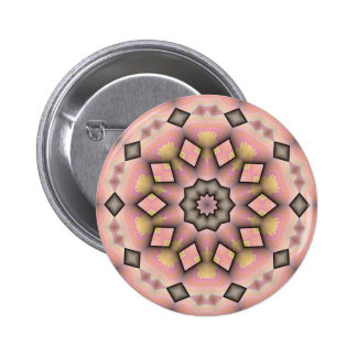 Pink Posey Pinback Buttons
