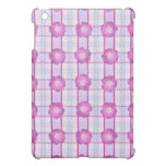 Pink Posies and Plaid iPad Mini Covers