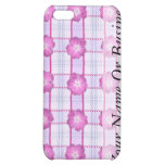 Pink Posies and Plaid iPhone 5C Covers
